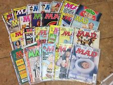 MAD MAGAZINES FROM 1990'S~CHOOSE ANY ISSUE (or more & SAVE!) FROM HUGE LOT~NICE!