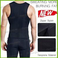 Men Compression Shirt for Body Slimming Tank Top Shaper Undershirt Tummy Control