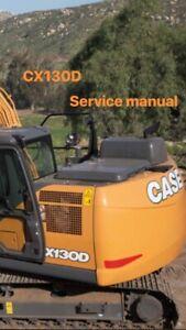 case construction ** CX130D Service Manual ** USB
