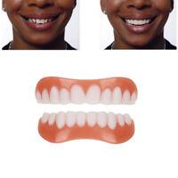 Perfect Smile Comfort Fit Flex Teeth Veneers Cosmetic Snap Upper + Lower Teeth U