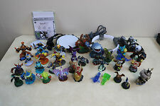 Activision Skylanders Figure Lot With 2 Xbox 360 Portals 36+ Items