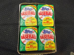 TOPPS 1990 BASEBALL CARD PACKS