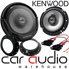 VW Caddy Van MK3 2003 On 16cm KENWOOD 600 Watts Front Door Speakers & Brackets