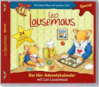 Leo Lausemaus - Der Hör-Adventskalender - 2er Box - Hörspiel - CD - *NEU*