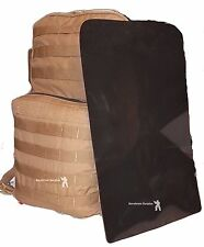 FILBE back Pack Replacement Plastic Back Stiffener Panel USMC stiffener black