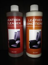 LEATHER CLEANER & CONDITIONER KIT - EFFECTIVE PRODUCTS - PROVEN RESULTS!