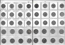 AUSTALIA LOT OF 140 COINS 1 CENT - 50 CENTS 1966-2006 W1