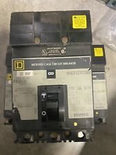 Qty3 Square D. Fa-36030, 3 pole, 30 A, 600V. circuit breaker. Used,Fast shipping