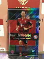 2019 Panini WCCF Footista Robert Lewandowski F19-5 #11 Mint Bayern Munich