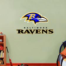 "Baltimore Ravens NFL Football Wall Decor Sticker Decal 25"" x 15"""