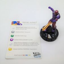 Heroclix X-Men: Days of Future Past set Sentinel Alpha 3 #023 Rare figure w/card