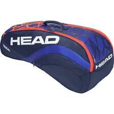 Head Radical 6 Combi Tennis Racket Bag - Blue/Orange Rrp £65