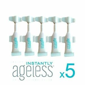 GENUINE✅ INSTANTLY AGELESS™ •NEW• RESEALABLE VIALS .6ml x 5 ✅FREE POST 📮