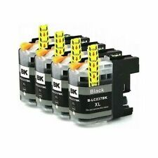 4x Compatible Ink Cartridge LC237XL Black For Brother MFC-J4620DW DCP-J4120DW