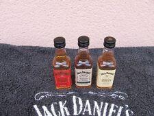 JACK DANIEL'S  3 MIGNONNETTES -FIRE - HONEY - RYE  -- NEUF -- 0,5CL