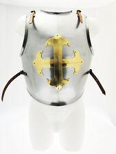Armatura Pettorale Cavaliere Templare in acciaio regolabile