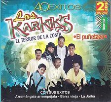 Los Karkiks 40 Exitos  2CD Caja De Carton New Sealed
