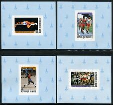 NIGER 1980 Olympiade Moskau Olympics 695-98 Deluxe Blocks ** MNH