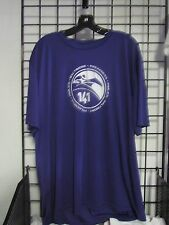 2016 PREAKNESS 141 - MAY 21 - PIMLICO - BALTIMORE PURPLE DRY-FIT SHIRT SMALL