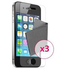 3 x Films de protection Clear HD ® pour iPhone 4 / 4S