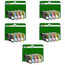20 Cartucce Di Inchiostro Per Brother MFC-J220 J265W J410 J415W NON-OEM LC985