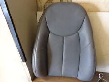 MERCEDES SL500 R230 sedile anteriore Cover in Pelle SCHIENALE LATO DESTRO O/S Dark Grey