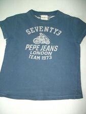 Orig. Pepe Jeans  - cooles dunkelblaues Baumwollshirt für 6 Jahre/122
