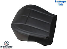 02-04 Jeep Grand Cherokee Limited -Passenger Bottom Leather Seat Cover Dark Gray