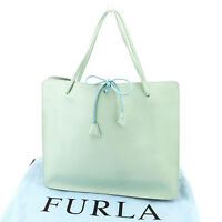 Furla Tote bag Blue Woman Authentic Used T2443