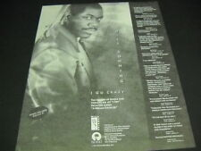 Will Downing multiple hype quotes 1991 Promo Poster Ad I Go Crazy