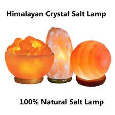 Pink Himalayan Salt Lamp, Natural Crystal Rock Salt Lamps, Healing Ionizing Lamp