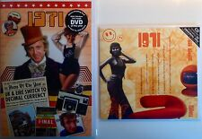 1971 46th Birthday Gifts Set - 1971 DVD , Pop CD and Card - CD Card Company.