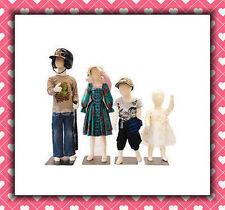 4 Child model accessories Mannequin Childen clothing pants Manikin Dress baby