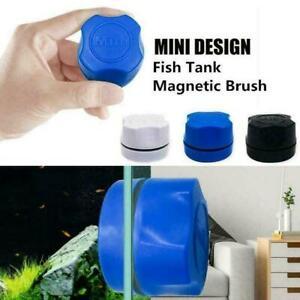 Home Aquarium Fish Tank Magnetic Clean Brush Glass Algae Scraper Cleaner Scrub