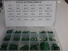 265 pcs New Fresch R12/R134a Car Air Conditioning A/C O-Ring Assortment Kit