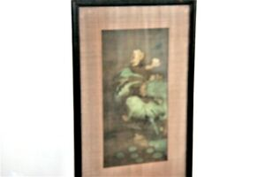 Fine art Chinese old woodblock print of the Sung period Original