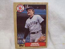 1987 Topps Baseball Wade Boggs - Red Sox