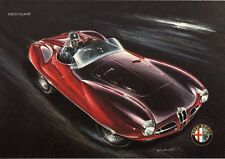 GA37-Stampa-Mini Poster Alfa Romeo Disco Volante