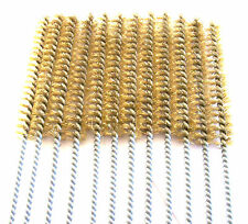"""6 GOLIATH INDUSTRIAL 16"""" BRASS WIRE TUBE CLEANING BRUSH 1/2"""" TB12B BRUSHES GUN"""
