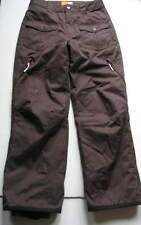 Youth Girls Orage Brown Snow Snowboard Insulated Pants Ski Board Sz XXL 16