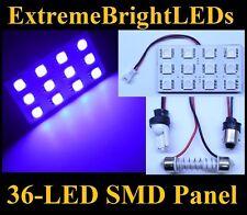 ONE UV Purple 36-LED SMD Panels Map Dome Door Lights Bulbs #64C