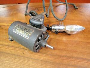 Vintage Kenmore #E-6354 Electric Sewing Machine Motor & Lamp.