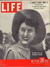 Life Magazine May 29 1950 Birthday, A Kings Story VG 042216DBE