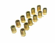 "Pack of 12 Inverted Flare Fittings. 3/8"" - 24 for 3/16"" tube"