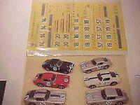 FERRARI 250 GT SWB LE MANS 1961 1/43 DECALS KIT