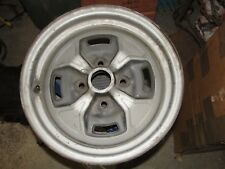 """1xNice Used OE Fiat#9121 Take-Off 79-80 2000 Spider 13""""x5 1/2"""" Steel Rally Wheel"""