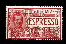 ITALIA - Regno - Espresso - 1903 - Effigie di Vittorio Emanuele III° 25 cent. ro