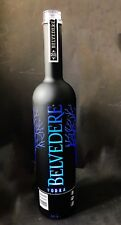 Belvedere Vodka 1,75 Liter Midnight Saber LED Flasche leer deko Empty Bottle