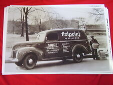 1940 FORD PANEL TRUCK HOTPOINT DEALER  11 X 17  PHOTO /  PICTURE