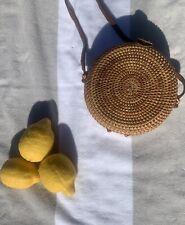 Handmade Rattan Bag Summer Beach Light Bali